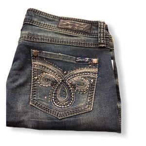 NWT Seven 7 Slim Boot Knit Denim Jeans